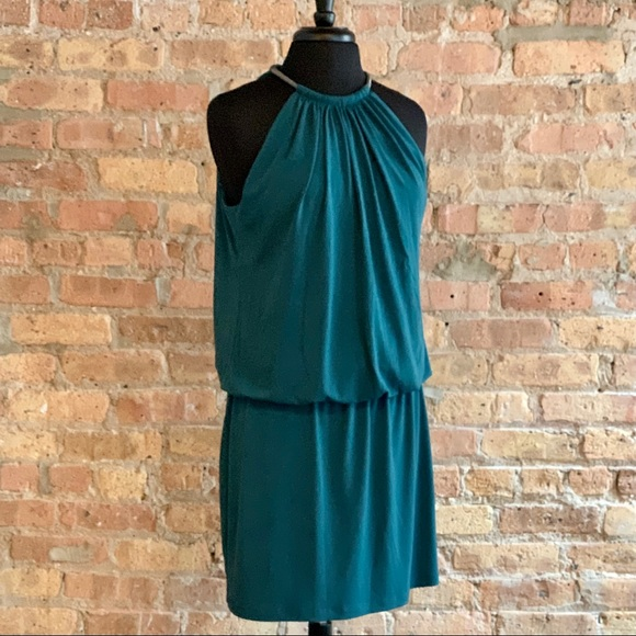 Jessica Simpson Halter Dress with Necklace 12